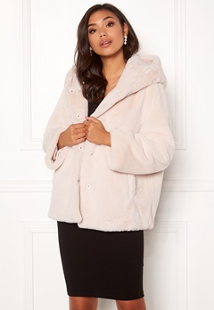 BUBBLEROOM Molly faux fur jacket Beige Bubbleroom.eu
