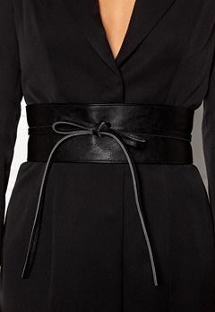 BUBBLEROOM Molly tie belt Black Bubbleroom.eu