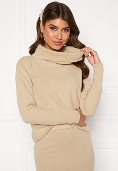 BUBBLEROOM Nelima knitted sweater Beige Bubbleroom.eu