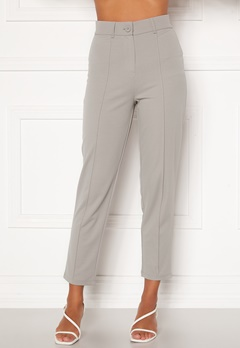 BUBBLEROOM Peyton soft suit trousers Grey Bubbleroom.eu