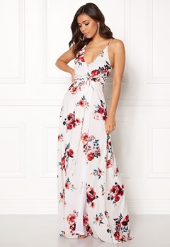 BUBBLEROOM Rosemary maxi dress White / Patterned / Floral Bubbleroom.eu