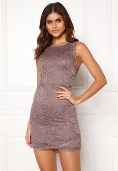 BUBBLEROOM Salma Lace Dress Dusty lilac Bubbleroom.eu