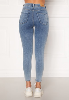 BUBBLEROOM Sandy highwaist superstretch Light denim Bubbleroom.eu
