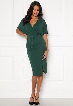BUBBLEROOM Selena dress Dark green Bubbleroom.eu