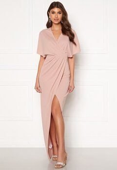 BUBBLEROOM Selena maxi dress Dusty pink Bubbleroom.eu