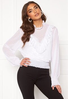 BUBBLEROOM Selin mesh top White Bubbleroom.eu