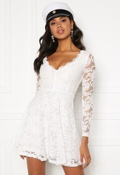 BUBBLEROOM Shione lace dress White Bubbleroom.eu