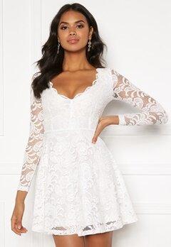 BUBBLEROOM Shione lace dress White Bubbleroom.eu