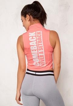 BUBBLEROOM SPORT Achieve sport top Peach Bubbleroom.eu