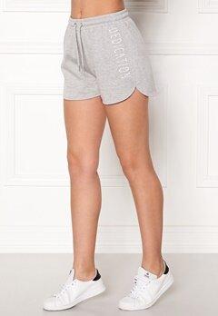 BUBBLEROOM SPORT Balance shorts Grey melange Bubbleroom.eu