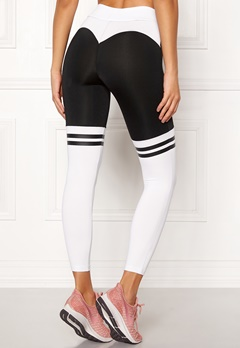 BUBBLEROOM SPORT Excite Sport Tights Black / White Bubbleroom.eu