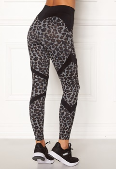 BUBBLEROOM SPORT Fierce sport tights Leopard / Black Bubbleroom.eu
