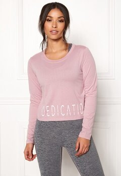 BUBBLEROOM SPORT The dedication sport top Dusty pink Bubbleroom.eu