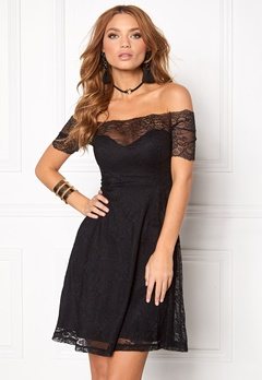 BUBBLEROOM Superior lace dress Black Bubbleroom.eu