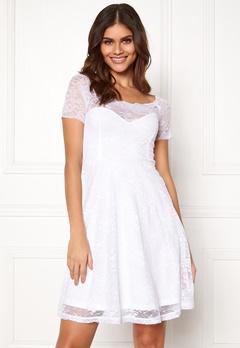 BUBBLEROOM Superior lace dress White Bubbleroom.eu