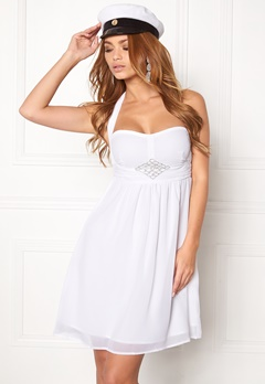 BUBBLEROOM Tiara glam dress White Bubbleroom.eu