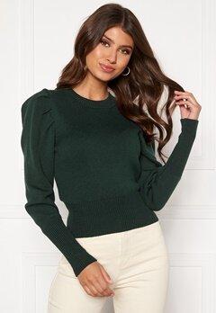 BUBBLEROOM Tua knitted sweater Dark green Bubbleroom.eu