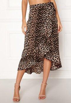 BUBBLEROOM Villima midi skirt Leopard Bubbleroom.eu
