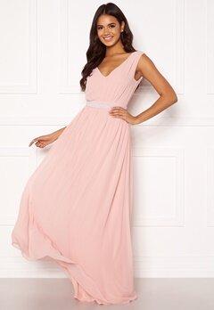 BUBBLEROOM Candance pearl prom dress Dusty pink Bubbleroom.eu