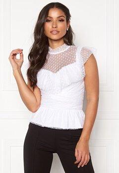 BUBBLEROOM Nilla blouse White Bubbleroom.eu