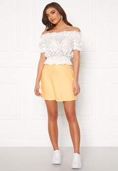 BUBBLEROOM Hilda skirt Light yellow Bubbleroom.eu