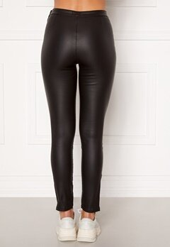 BUBBLEROOM Brienne coated zip leggings Black Bubbleroom.eu