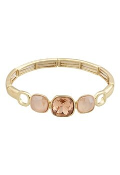 BY JOLIMA Glam Bangle Bracelet Champagne Gold Bubbleroom.eu