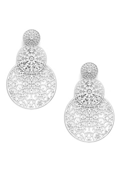 BY JOLIMA Spinn Triple Earring Silver Bubbleroom.eu