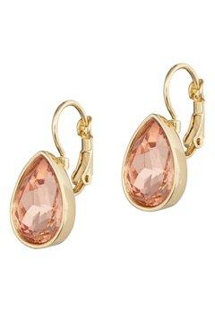 BY JOLIMA Tear Drop Earring Champagne Gold Bubbleroom.eu