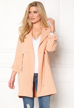 b.young Garva Trench Coat Pearl Blush Bubbleroom.eu
