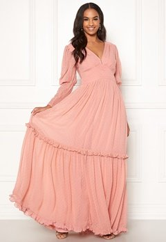 byTiMo Delicate Gown 477 Dusty Pink Bubbleroom.eu