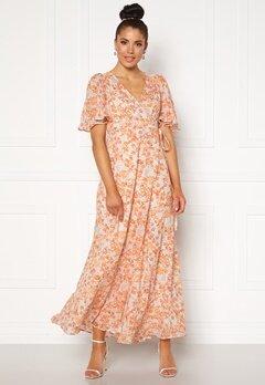 byTiMo Delicate Semi Wrap Gown Coral Bubbleroom.eu