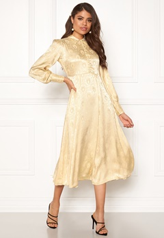 byTiMo Jaquard Shirt Dress 342 Golden Bubbleroom.eu