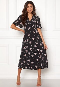 byTiMo Midi Day Dress 855 Small Bouquet Bubbleroom.eu