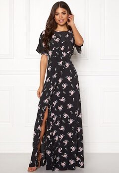 byTiMo Ruffle Wrap Gown 855 Small Bouquet Bubbleroom.eu