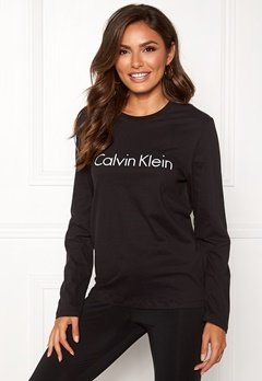 Calvin Klein CK L/S Crew Neck Black Bubbleroom.eu