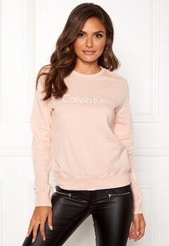 Calvin Klein CK L/S Sweatshirt Gold Blush Bubbleroom.eu