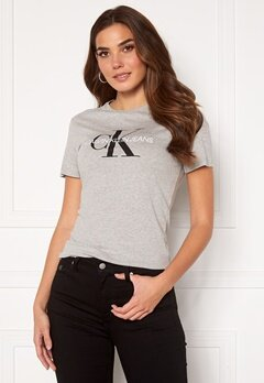 Calvin Klein Jeans Monogram Regular Fit Tee 038 L Grey Heather Bubbleroom.eu