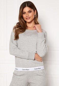 Calvin Klein Top Sweatshirt LS 020 Grey Heather Bubbleroom.eu