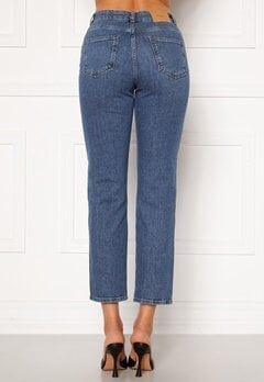 VERO MODA Carla HR Reg Ankle Jeans Medium Blue Denim Bubbleroom.eu