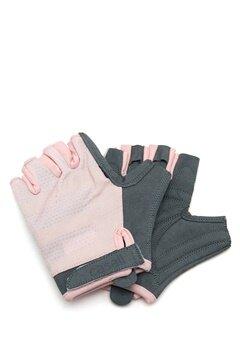 Casall Exercise Glove 307 Lucky Pink/grey Bubbleroom.eu