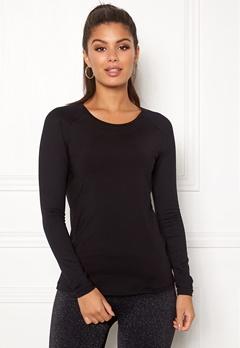 Casall Iconic Long Sleeve 901 Black Bubbleroom.eu