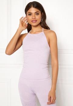 Casall Seamless Skin Strap Top 617 Lavender Spa Bubbleroom.eu