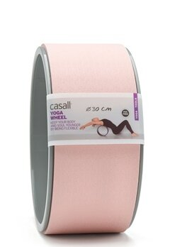 Casall Yoga Wheel Lucky Pink / Grey Bubbleroom.eu