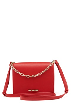 Love Moschino Chain Crossbody Bag 500 Red Bubbleroom.eu