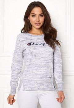 Champion Crewneck Sweatshirt Black Melange Bubbleroom.eu