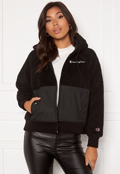 Champion Full Zip Sweatshirt KK001 NBK/MNT Black Bubbleroom.eu