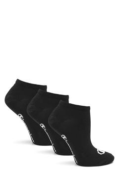 Champion No Show Socks 3-Pack Black Bubbleroom.eu