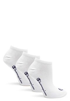 Champion No Show Socks 3-Pack White Bubbleroom.eu