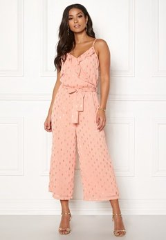 OBJECT Chandra S/L Jumpsuit Misty Rose Bubbleroom.eu